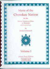 Music of the Cherokee Nation-Native American flute or recorder-Vol I