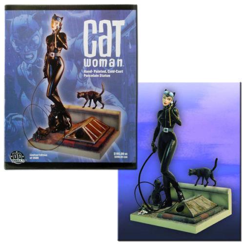 Catwoman Porcelain Statue Figure - Dc Direct - Limited Edt 472 3500 Cold Cast