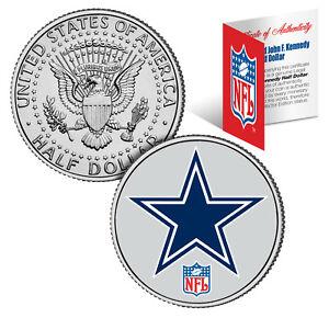 DALLAS-COWBOYS-NFL-JFK-Kennedy-Half-Dollar-US-Coin-Officially-Licensed