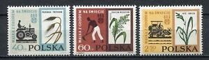 35701-Poland-1963-MNH-Fao-Freedom-From-Hunger