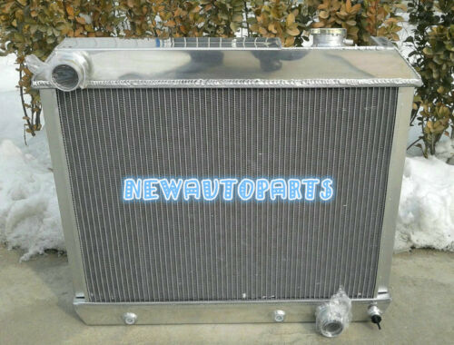 3 Rows Aluminum Radiator For Chevy Truck C10 C20 C30 63-66 1963 1964 1965 1966