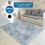 Teppich-Hochflor-100x160-Shaggy-Flokati-Langflor-Fussmatte-Laeufer-Weich-6-Farben Indexbild 1