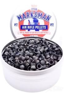 500 x Marksman Domed .22//5.5 mm Domed plomb dômes Pellets-Full Tin