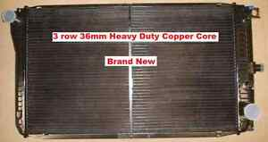 Radiator-Ford-Fairlane-LTD-NA-NB-NC-6Cly-OR-V8-1988-1994-HDuty-3-Row-Copper-New