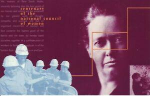 Australia-Post-Design-Set-MNH-Decimal-1996-National-Council-of-Women