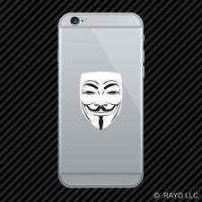 We Are Anonymous Cell Phone Sticker Mobile hacker group internet