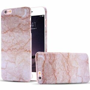 Pebble-Stone-Rock-Marble-Pattern-Hard-PC-Shockproof-Back-Case-Cover-For-iPhone