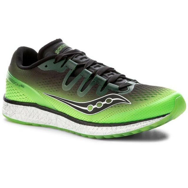 Saucony Men's Freedom ISO Running Shoe, Slime Black S20355 4 Pick A Size