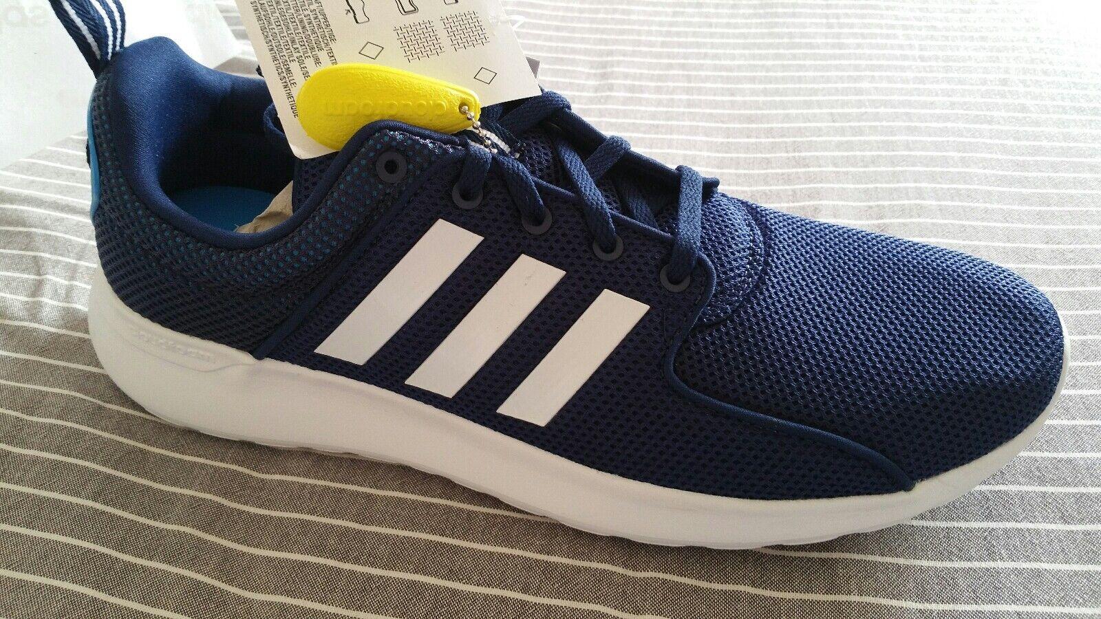 Adidas.. CF Lite Racer in bluee. Size 10.5. New
