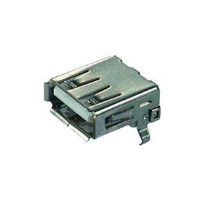 2-0-USB-A-Kupplung-Buchse-Terminal-zum-Einbau-Einbaukupplung-Einbaubuchse