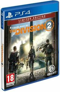 PS4-PLAYSTATION-4-TOM-CLANCY-039-S-THE-DIVISION-2-DVD-DLC-PRIMO-SOCCORRITORE-NUOVO
