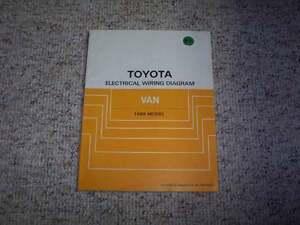 1988 toyota van electrical wiring diagram manual le panel window image is loading 1988 toyota van electrical wiring diagram manual le