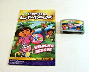 Leapster-Dora-the-Explorer-Wildlife-Rescue-Video-Game-Cartridge