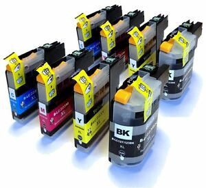 LC223-x2-Sets-of-Cyan-Magenta-Yellow-amp-Black-Compatible-Ink-Cartridges-LC-223
