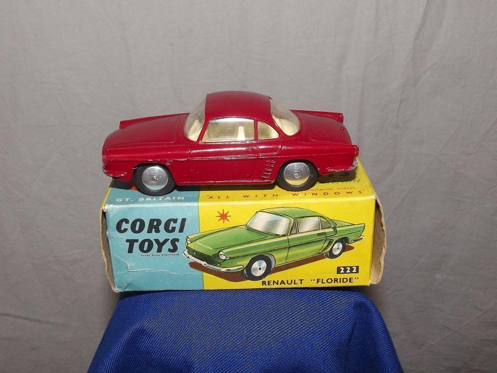 222 renault floride 1959-65 boxed corgi spielzeug