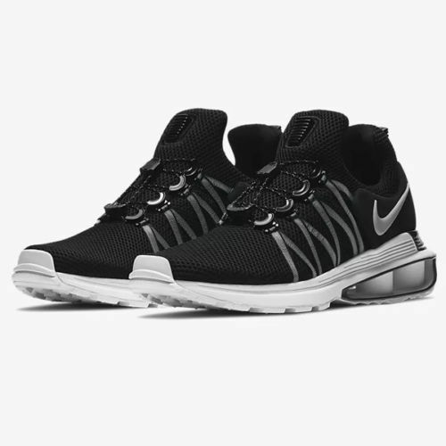 6f35ea743163 Nike Mens Shox Gravity Running Sneaker Shoes Size 10.5 Black Ar1999 002 for  sale online