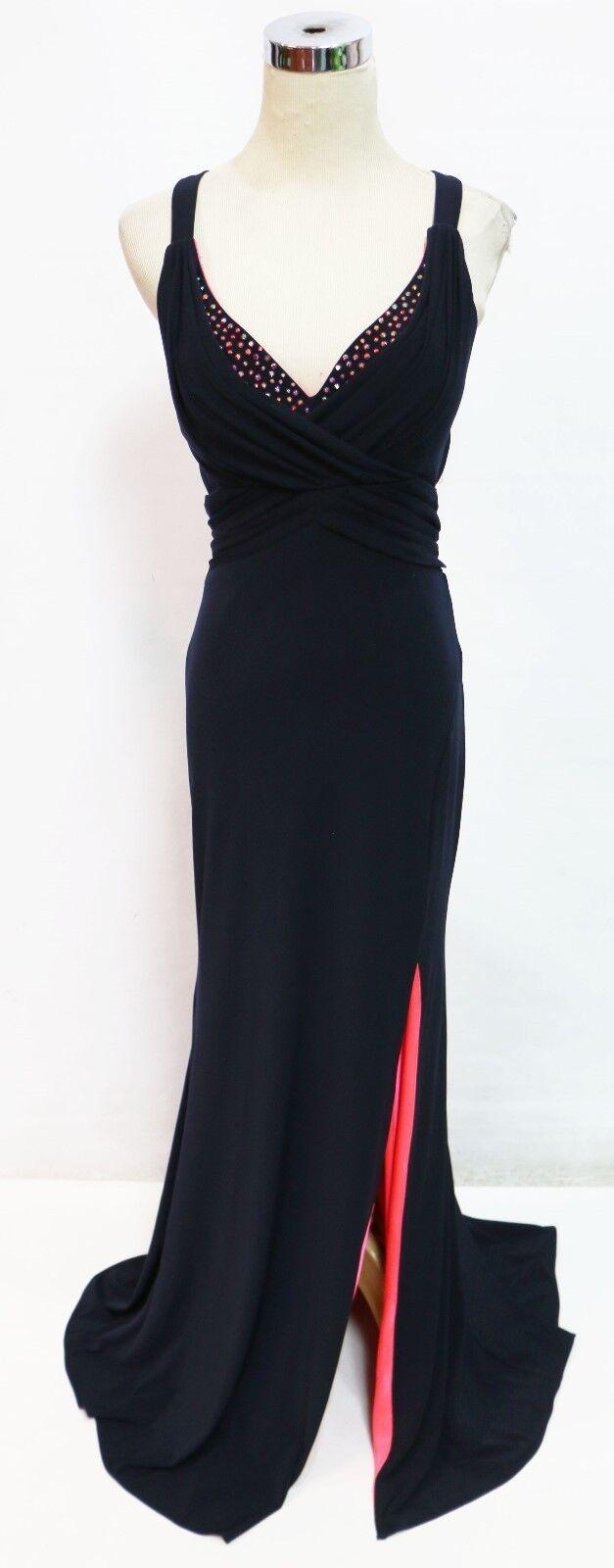 BLONDIE NITES AZUL MARINO Baile  de graduación Formal Noche Vestido 3 -  165 Nuevo con etiquetas  tienda de ventas outlet