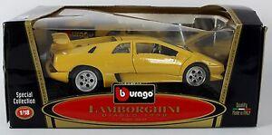 Conv Bburago Lamborghini Diablo 1990 Coleccion Especial 1 18 Ebay