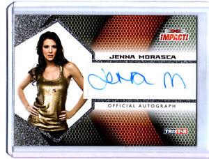 TNA-Jenna-Morasca-2009-Tristar-Impact-SILVER-Authentic-Autograph-Card