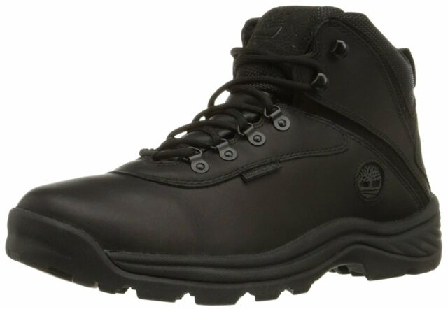 Timberland Mens white ledge Leather Round Toe Ankle Safety, Black, Size 12.0 weA