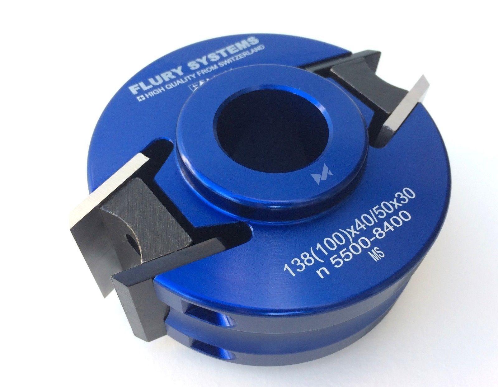 FLURY Sicherheits-Profilmesserkopf (138)100x40 50x30 mm 03.100.050.430.A