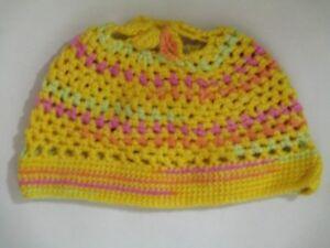 Hüte & Mützen Kleidung & Accessoires Rational Häkelmütze Für Mädchen Gr 48-50