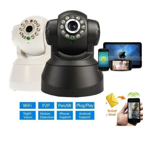 For Android iPhone PC View Ctrl Wifi IP Wireless Remote Spy Surveillance Camera