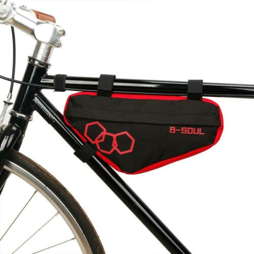 UK Waterproof Mountain MTB Bike Triangle Bag Bicycle Frame Front Under Tube Bags