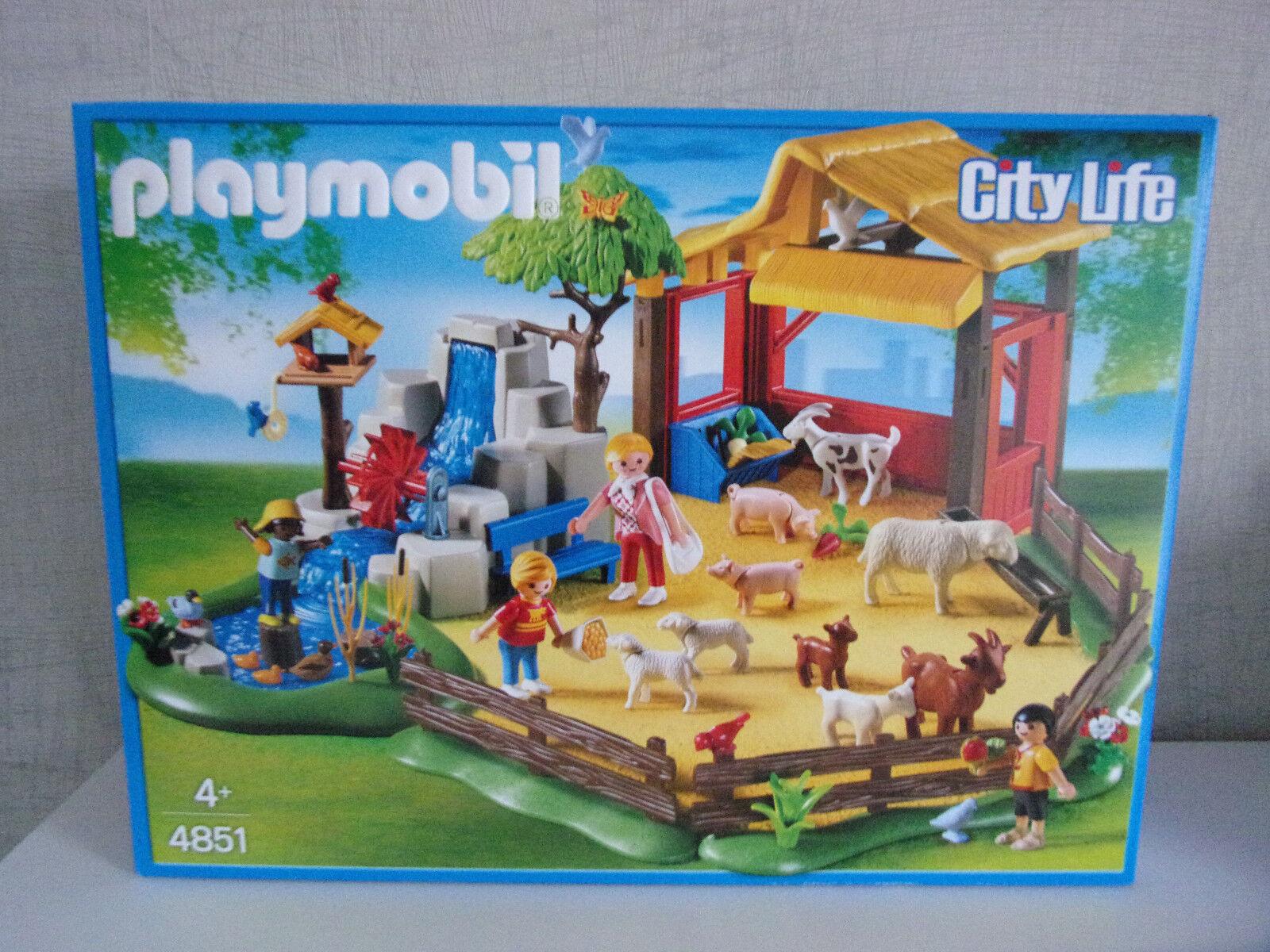 Playmobil City Life 4851 Zoo pour Enfants  - Neuf et Emballage D'Origine  choix à bas prix