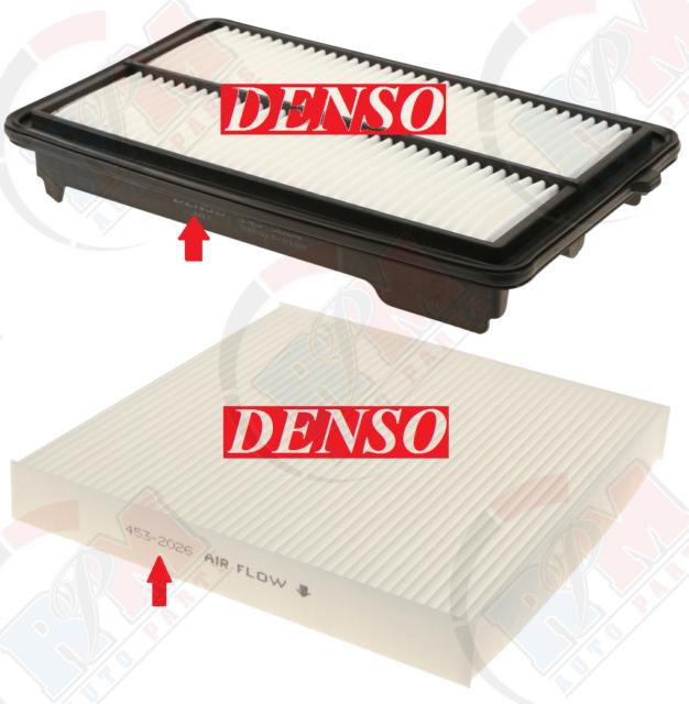 DENSO Air & Cabin Filter For 2013-2017 Honda Accord V6