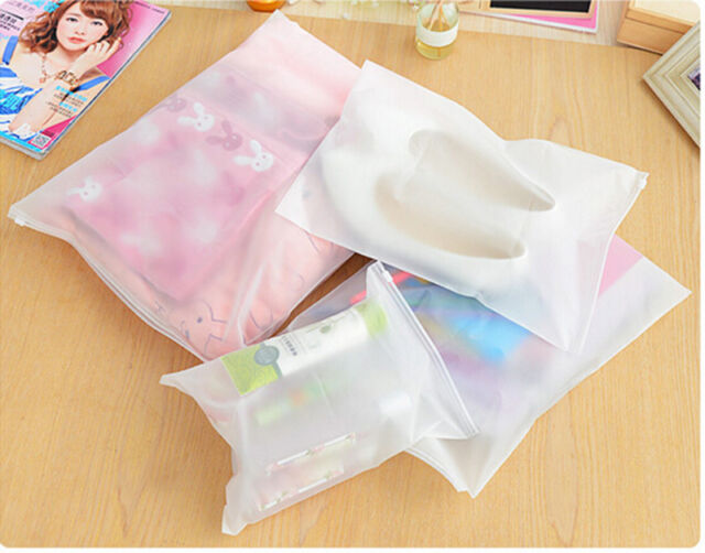 3PCS Waterproof Zipper Underwear Sock Storage Bag Travel Organise AU SE E4