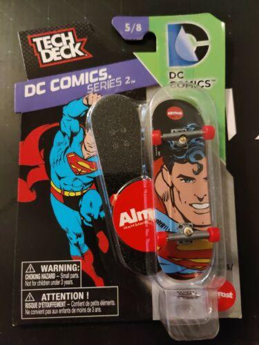 Tech Deck DC Comics Series #2 Superman Mullen Almost Board 5//8 Rare And Mint