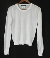 Brandy Melville Top Long Sleeve 100% Cotton Mesh Size Xs/s