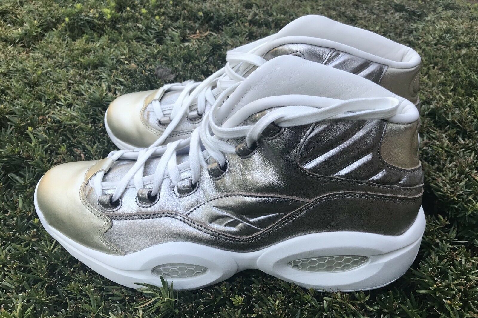 REEBOK QUESTION MID CELEBRATE IVERSON DS SZ 7 US HALL OF FAME 115 PAIRS NEW