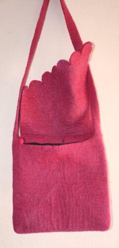 hombro mano del del del Fel20 las Bolso muchachas la señoras del hecho fieltro las fieltro de de algodón a de moda qW4wtwOf
