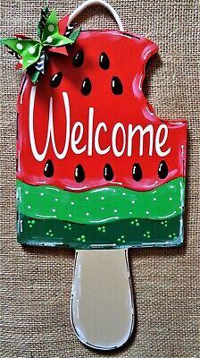 20 Watermelon Wooden Door Hanger