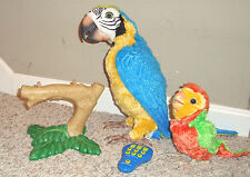 LAST 1   FurReal Squawkers McCaw Interactive Talking Parrot Baby Perch Remote