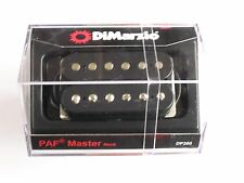 DiMarzio Regular Spaced PAF Master Neck Humbucker Black DP 260