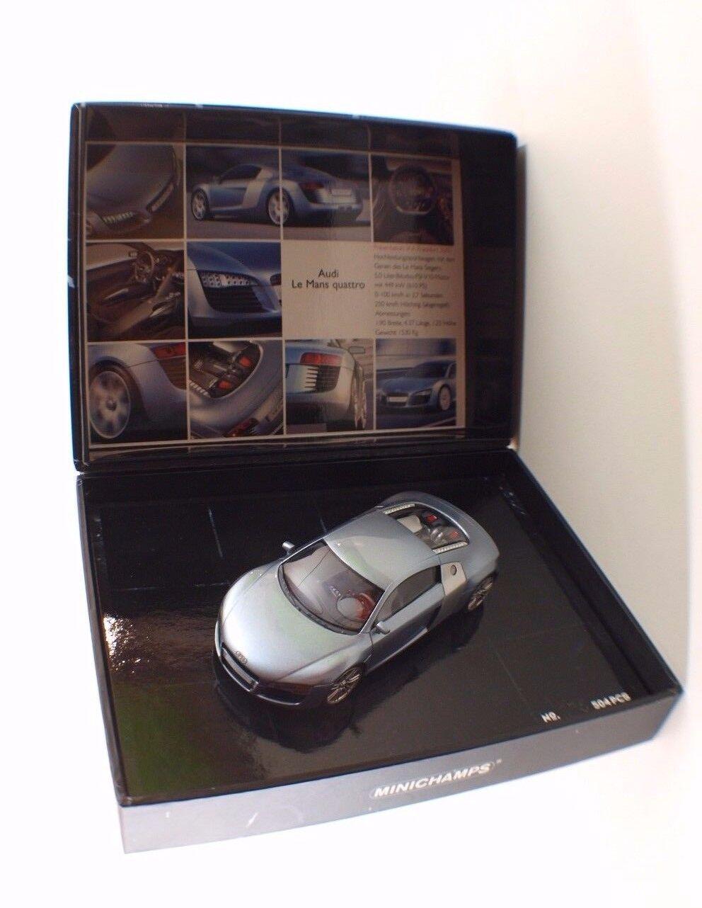 Minichamps 440 013120 Audi le Mans Quattro Nuovo MIB 1 43 Edizione Lim.