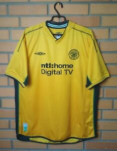7bff46c0f Image is loading Celtic-football-shirt-2002-2003-Away-jersey-soccer-