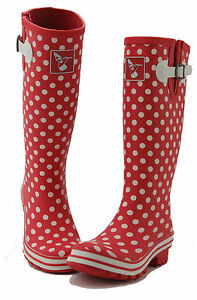 Wellies Ladies Boots Winter Designer Rubber Rain Evercreatures Wellingtons 1cHBRSc