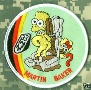 USAF-BART-SIMPSON-MARTIN-BAKER-CLUB-EJECTION-SEAT-PATCH