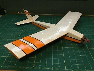MinimumRC Cessna L-19 460mm Wingspan Balsa Wood Laser Cut RC Airplane KIT