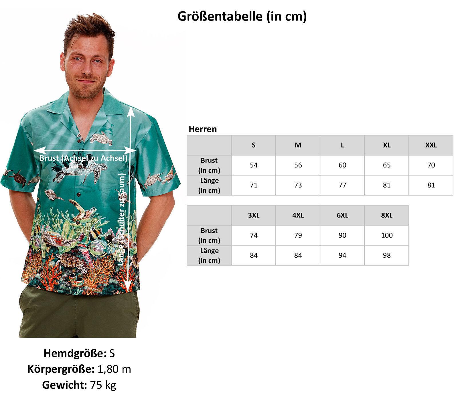 KY`S Original Hawaiian Shirt, Hawaiihemd, Hawaiihemd, Hawaiihemd, Bier, CGoldNA, Grün S-8XL  | Tadellos  ed5a76