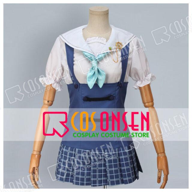 Cosonsen Love Live! Hanayo Koizumi Navy Unawakened Cosplay Costume Uniform
