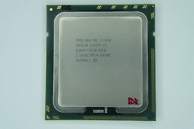 Intel Core i7 920 2.66GHz Quad-Core SLBCH SLBEJ CPU w//Grease AT80601000741AA