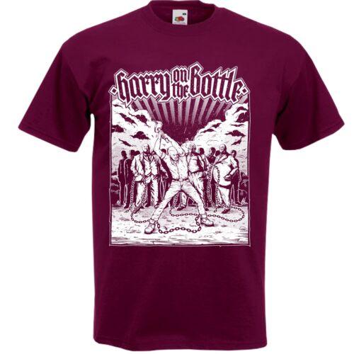 HARRY ON THE BOTTLE T-Shirt Neu S-3XL Oi Streetcore Skinhead Discipline Toxpack