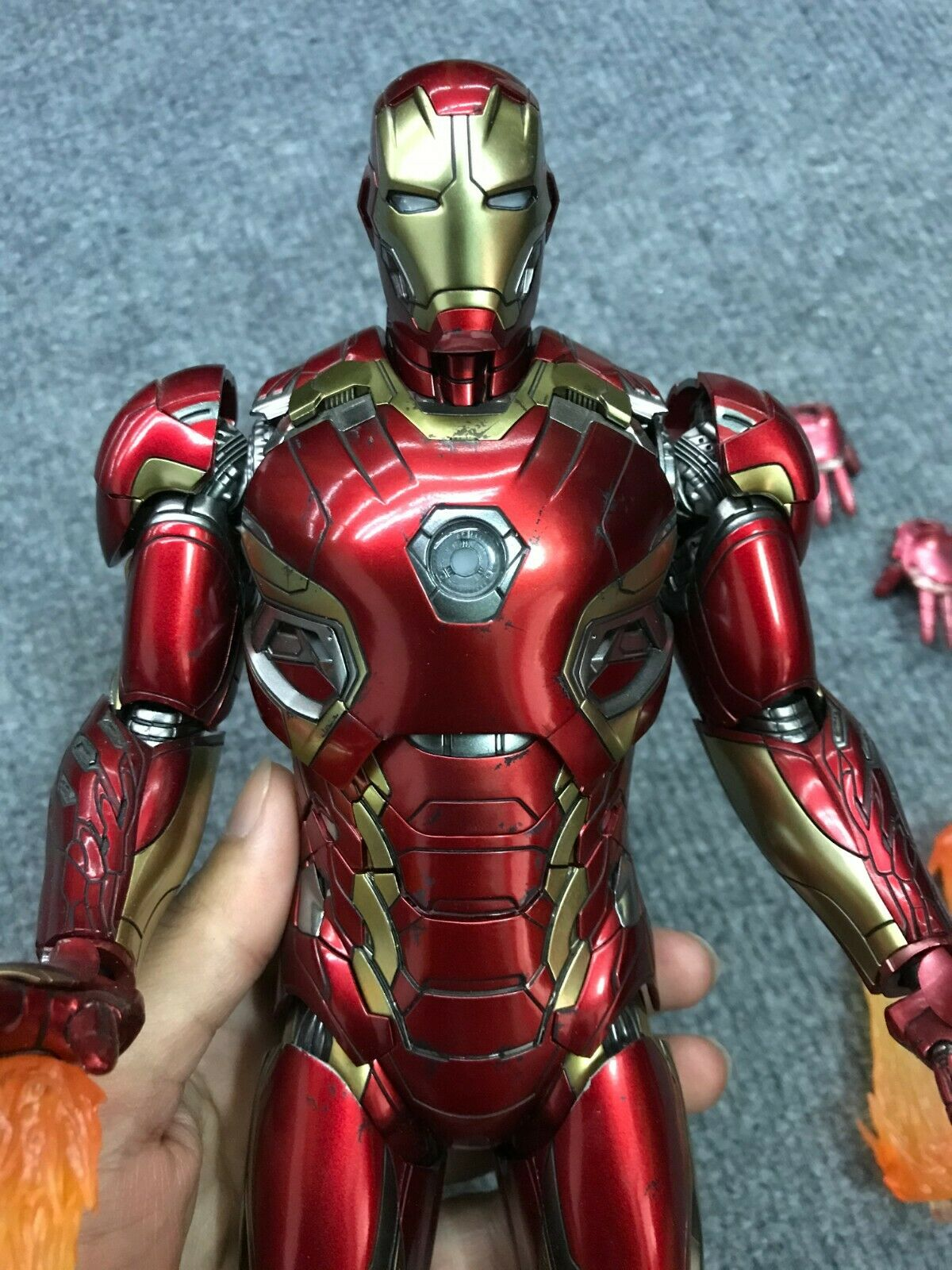 age of ultron iron man mk45 action figure figurines toy 30cm Avengers