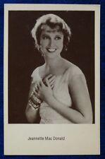 CINEMA - FOTO CARD - JANETTE MAC DONALD