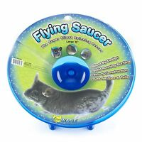 Ware Flying Saucer Small Pet Exercise Wheel, Large, 12-inch, Colors May Vary , N